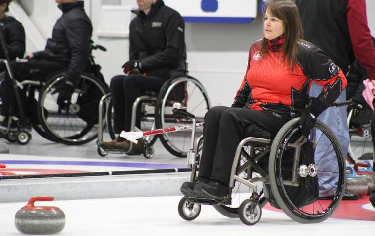BC athlete in wheelchair worlds