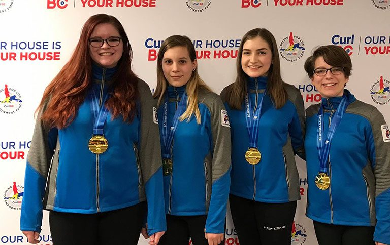 Curling gold at Games