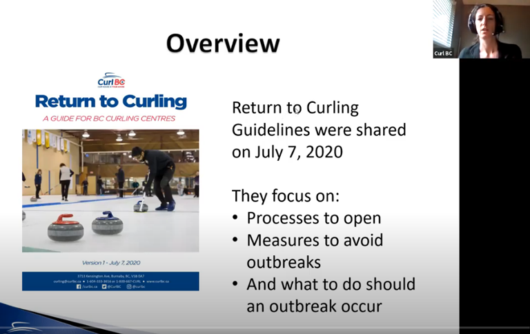 Return to curling webinars