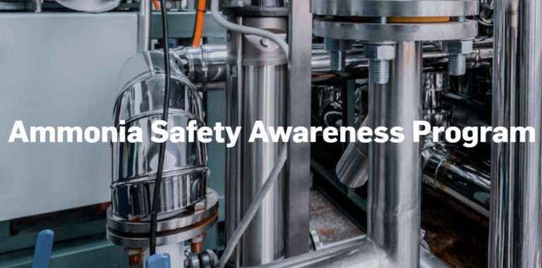 Announcing the Ammonia Safety Awareness Program